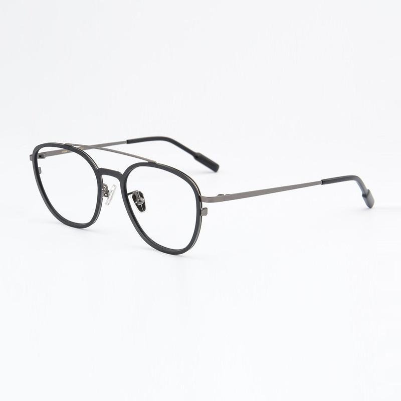 f32b1154bf1 2019 Width 138 Ultra Light Retro Men Titanium Woman Full Frame Myopia Sunglasses  Style Eyeglasses Frames Male Optical Spectacle Frame From Marquesechriss