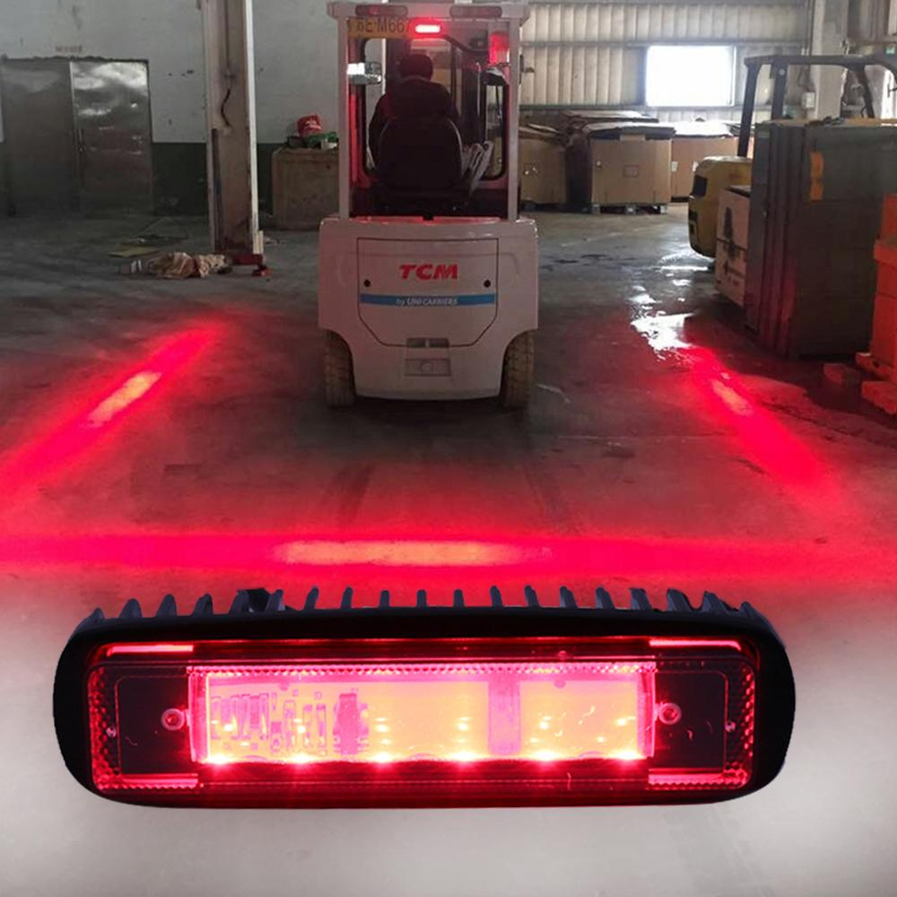 Blue Red LED Forklift Safety Light Spot Light Warehouse