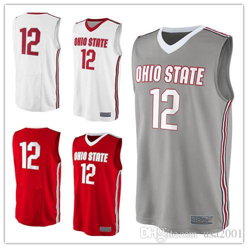 820c9a6803b 2019 2019 Custom Made #12 Ohio State Buckeyes College Man Women Youth  Basketball Jerseys Size S 5XL Any Name Number From Usa2001, $58.89 |  DHgate.Com