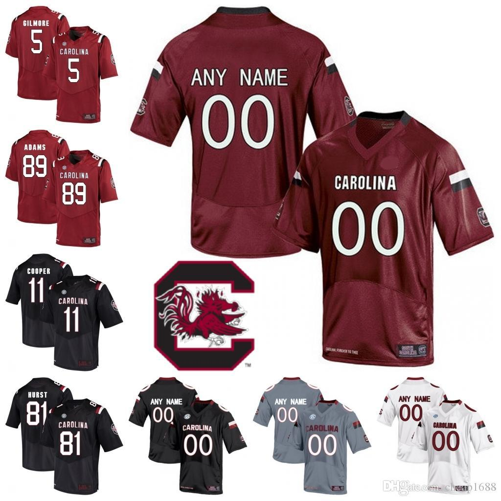 2019 Custom South Carolina Gamecocks College Football Personalized Stitched  Any Name Number NCAA SEC Jake Bentley Jersey From Jerseys4858 21dc7b07d