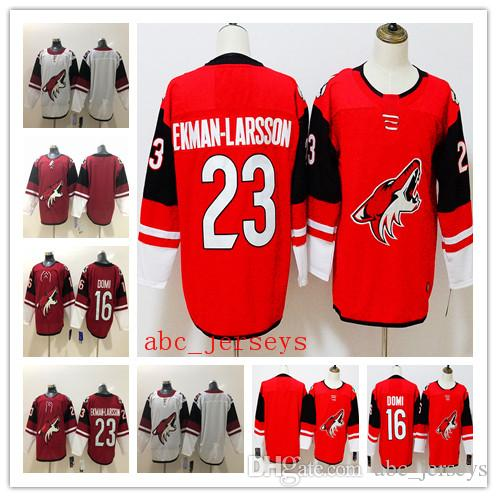946461ba2a3 Men Arizona Coyotes Hockey Jersey 7 Keith Tkachuk 19 Shane Doan 16 ...