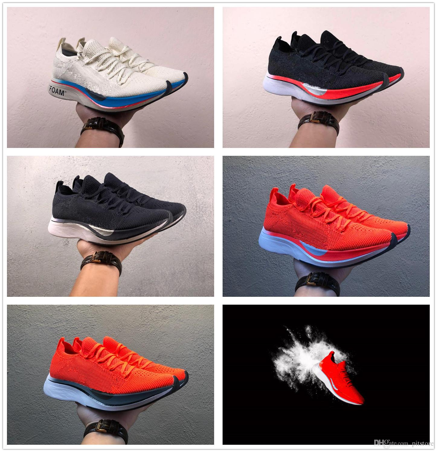 9789a86b7a0f8 2019 2019 New Top Zoom Shoe Vaporfly 4% Zoom Fly Zoom Pegasus Turbo ZoomX  AJ3857 600 Euro 36 45 With Box From Pitstore