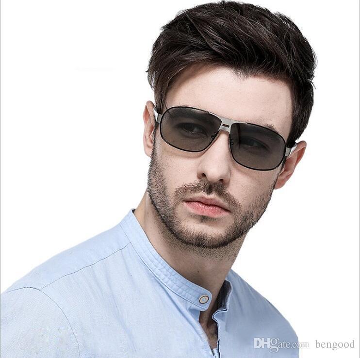 aa30020386 Compre Nuevas Gafas De Sol De Moda Para Hombres Con Lentes Polarizadas UV  400 Protección Retro Conducción Gafas De Sol De Viaje Con Caja Negra A  $17.67 Del ...