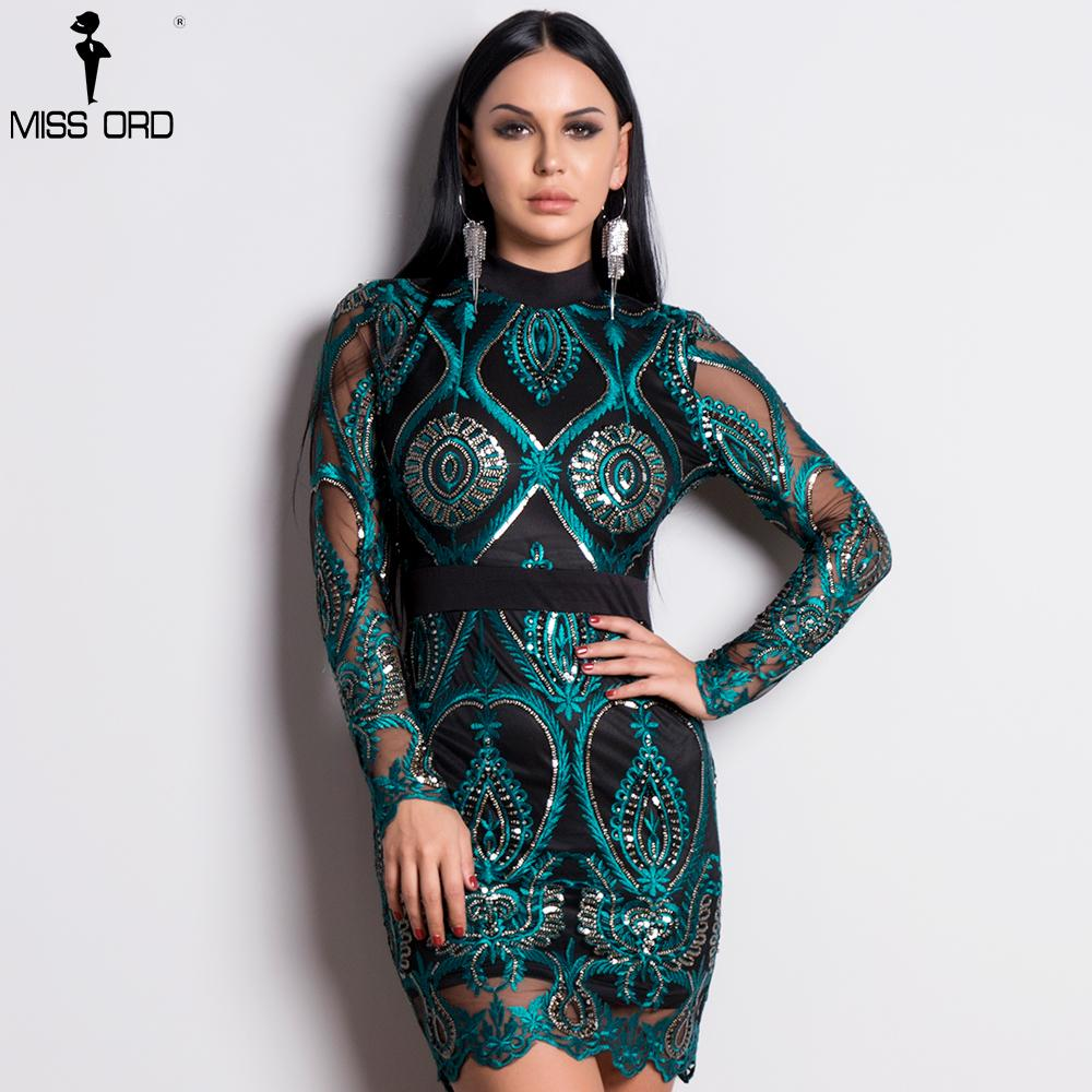 Missord 2019 Sexy Women Long Sleeve Sequin Backless Dresses Women Hollow  Out Maxi Party Elegant Bodycon Dress FT9564 Y19012102 Online with   55.19 Piece on ... d2f38b19a587