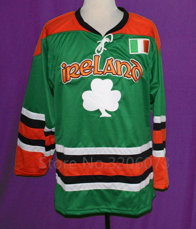 2019 Men S Women S Youth Custom TEAM IRELAND LUCKY HOCKEY JERSEY LUCK OF  IRISH Mens Embroidery Stitched Customize Any Number And Name Jerseys From  Fanatics 5033603ecb3