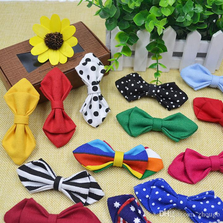 Bowtie Richmond Va >> Cotton Canvas Baby Bow Ties Children Bow Tie Bow Tie Adjustable Imitation Silk Bowknot Multicolor Bowtie