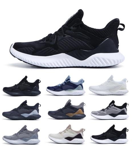 ae72a53795ae9 2019 New Sale AlphaBounce Beyond High Quality Marbles Shark Outside Running  Shoes Black Grey White Alpha Khaki Bounce Jogging Shoes EUR36 45 Sports  Shoes ...