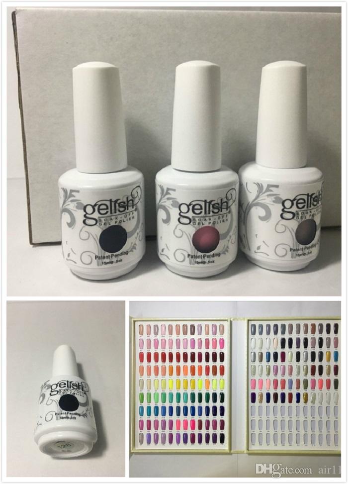 Top Quality Harmony Gelish Nail Polish 15ml Gel Polish UV Color Gel ...
