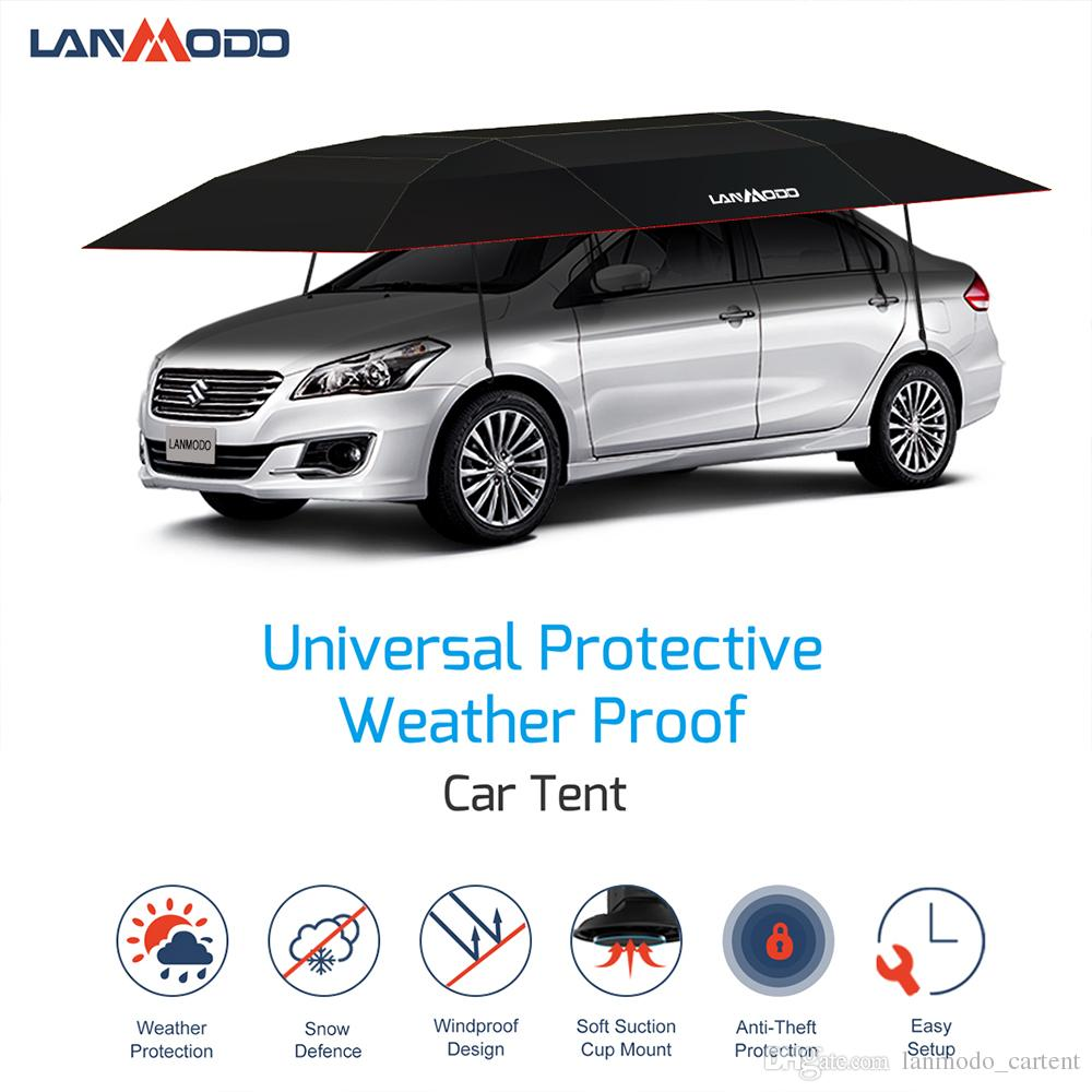 2019 Lanmodo Portable Car Garages Shelters Suitable For All Car