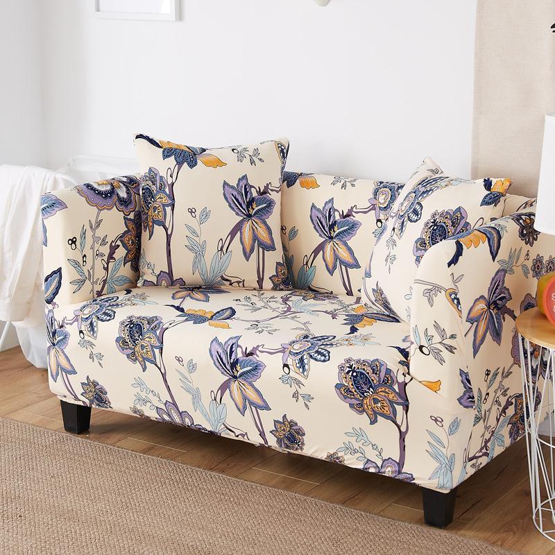 Universal Elastic Sofa Cover Tight Wrap All Inclusive Slip Resistant