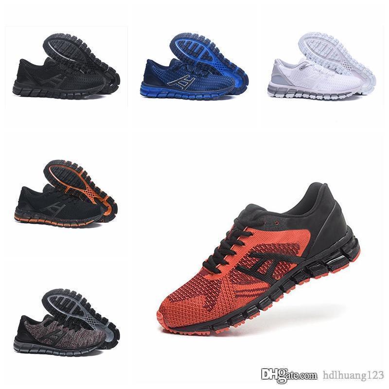 Asics GEL QUANTUM 360 KNIT 2 Originals Tampon en tricot Chaussures de course pour hommes Sport ultra bottes meilleures chaussures de basket ball