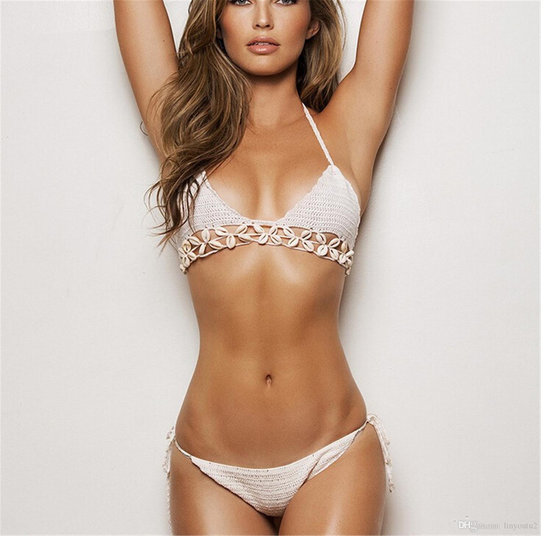 Acquista Bikini Alluncinetto Costume Da Bagno Donna Costume Da