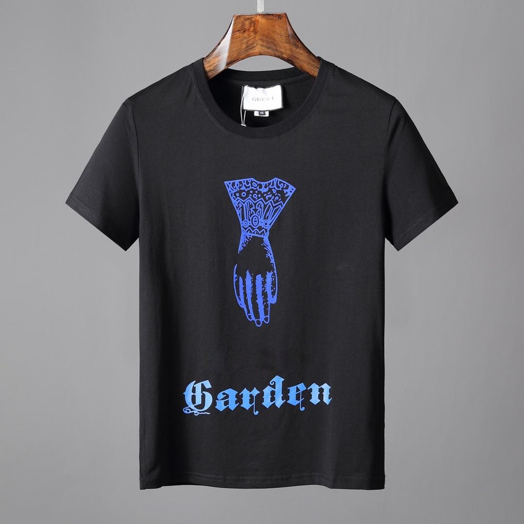 b6d1ef7f7cbd 19ss Mens Fashion Clothing Summer Designer T Shirts Mens Tees Luxury Tops  Brand Letter Pattern New Arrivals Tshirt Casual Tees For Couple Awesome  Shirts ...