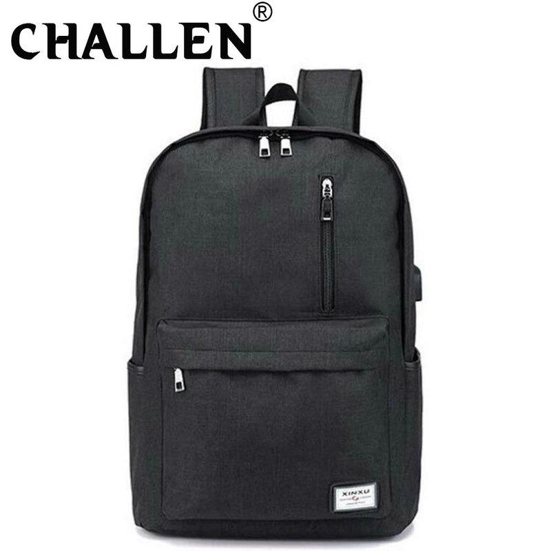 New Fashion Casual Backpack Multifunction USB charging travel bag Laptop backpack Men Women School C44-61