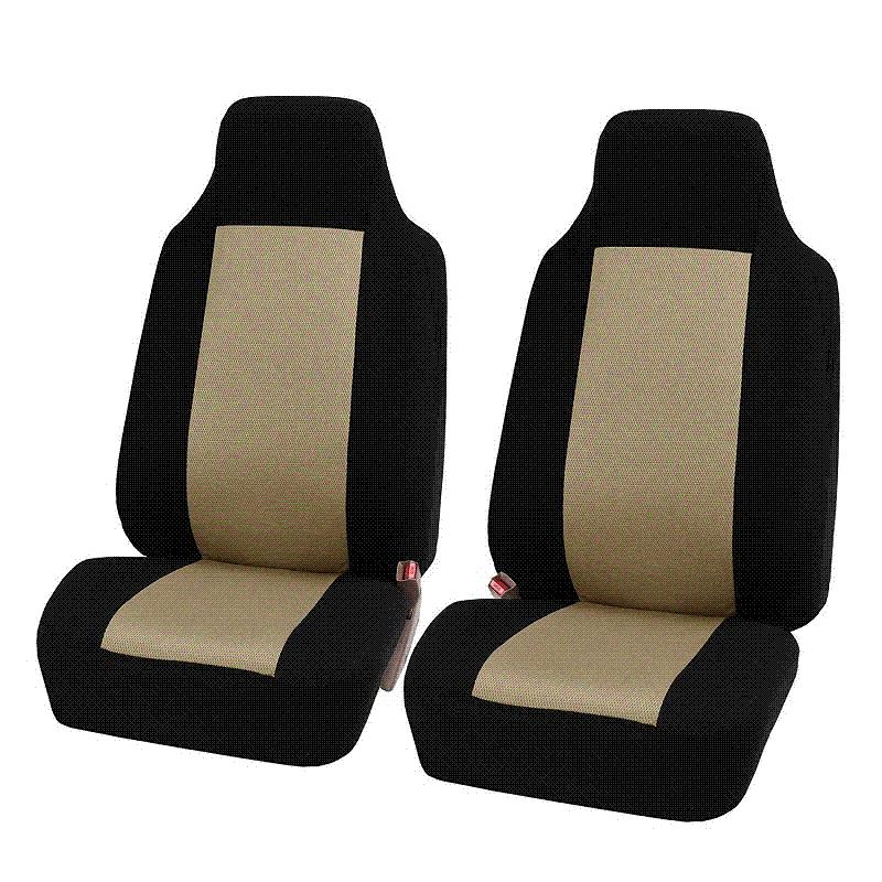 2018 New Car Seat Cover Car Styling Automobile Seat Protector Universal Fitment Car Front Seat Support Covers Auto Decoration