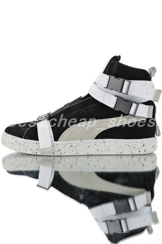 new products 9f13d 8cafa Puma Suede X The Weeknd 2019 Nouveau La Weeknd XO Suède Classique Hommes  Designer Bottes High skate Sneaker pluie neige hiver Femmes Bottes Running  ...