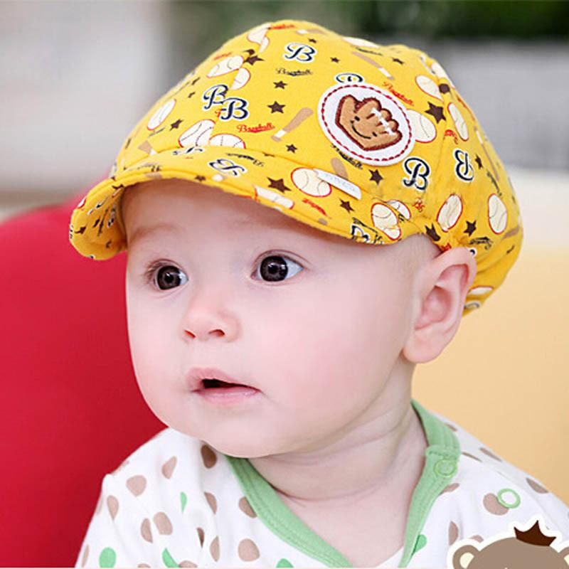 21c4e4dfc10 YOUYEDIAN Baby Boy Girl Kid Toddler Infant Hat Peaked Baseball Beret Cap  Cartoon Printed Czapka Z Daszkiem Dla Dzieci Embroidered Hats Leather Hats  From ...