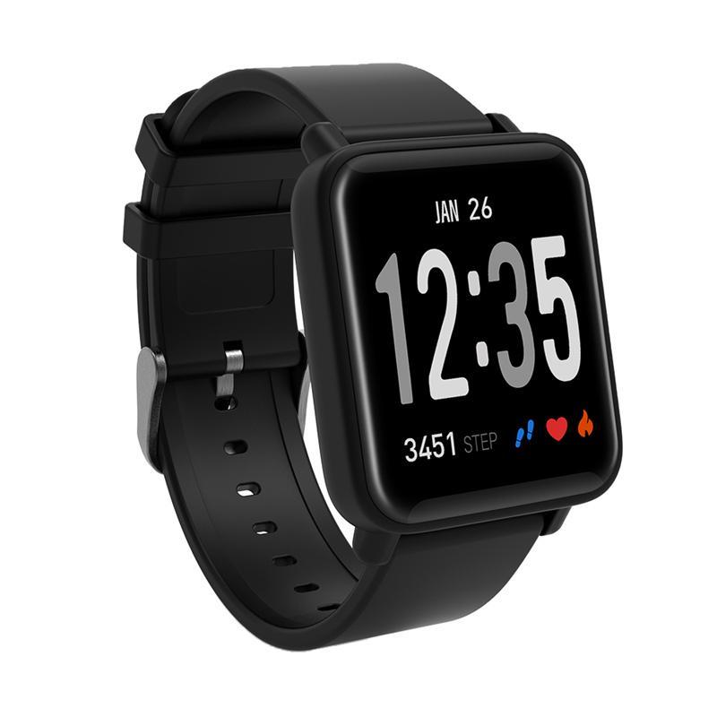 Compre DO10 Impermeable Podómetro Deportivo Reloj Inteligente Para Android  IOS SmartWatch Hombres Mujeres Fitness Tracker Pantalla De Información Reloj  A ... f1e027975fb