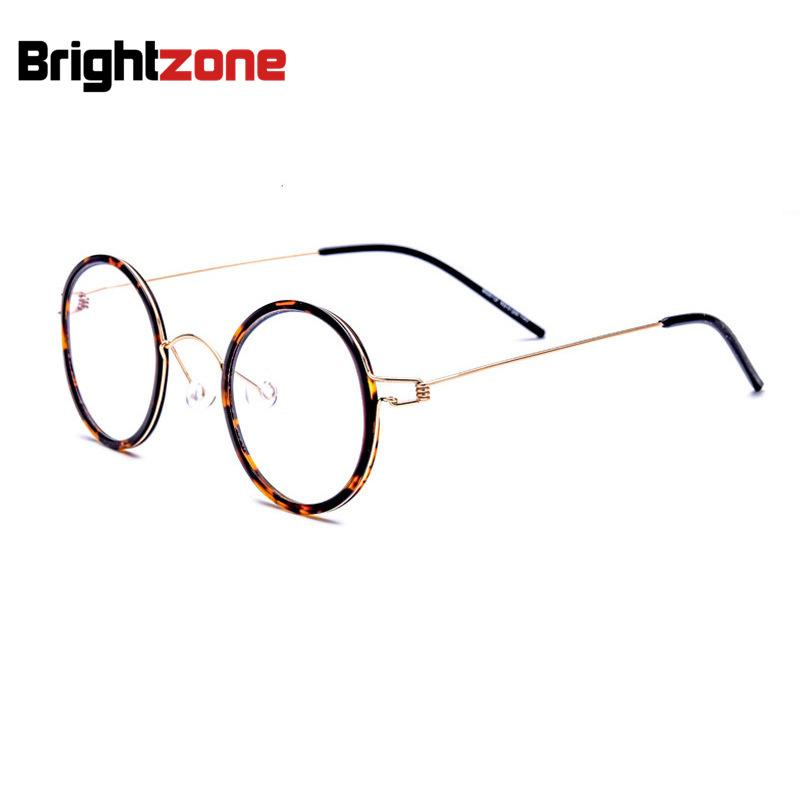 14d7cc32e1 2019 Vintage Oval Not Total Round Full No Screw Titanium Prescription Rx  Able Optical Myopic Glasses Frame Oculos Man Filter Optician From  Marquesechriss