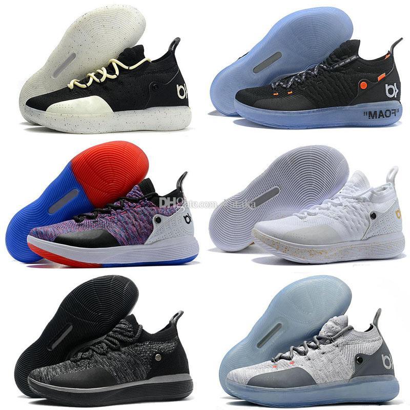 on sale b612b 0a778 Acheter 2019 Nouvelle Arrivée Zoom KD 11 Chaussures De Basket Ball Pour Hommes  KD XI, Kevin Durant Chaussures De Basket Ball D extérieur, Taille Us 7 12  De ...