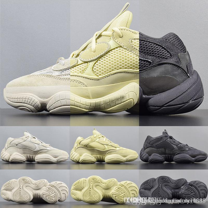 check out 98741 52651 Kanye West 500 Desert Rat Casual Shoes Running Shoes Boost 500 Top Selling  Outdoor Sports Shoe Running Sneakers Wholesale 500 Boost On Sale