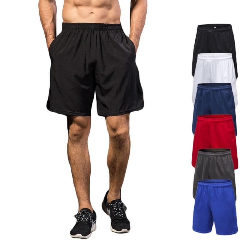 e4ca9482bd Compre Novo Esporte Calções Homens Elastic Shorts Tênis De Cordão De  Basquete Bolso De Futebol Jersey Cesta Sportswear Solto De Hupiju