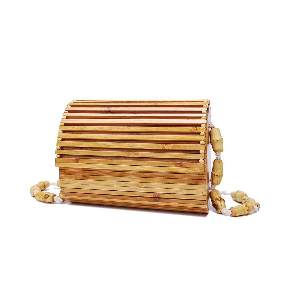 c8499493c0 2019 Fashion Brand Designer Women Bamboo Messenger Bag Small Cute Flap  Crossbody Bag Beach Rattan Shoulder For Ladies New Fashion Handbag Branded  Handbags ...