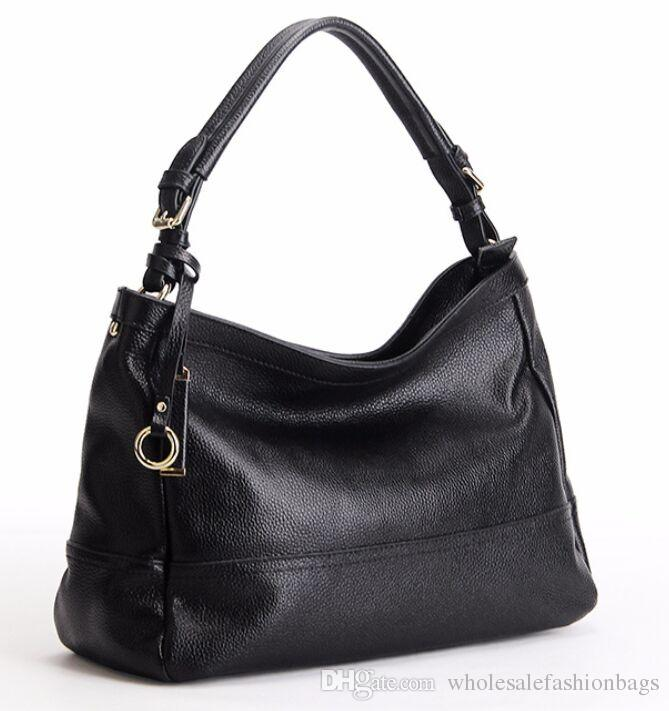 brand new high quality women European and american genuine leather lady real calfskin hobo luxury handbag tote bag purse y99