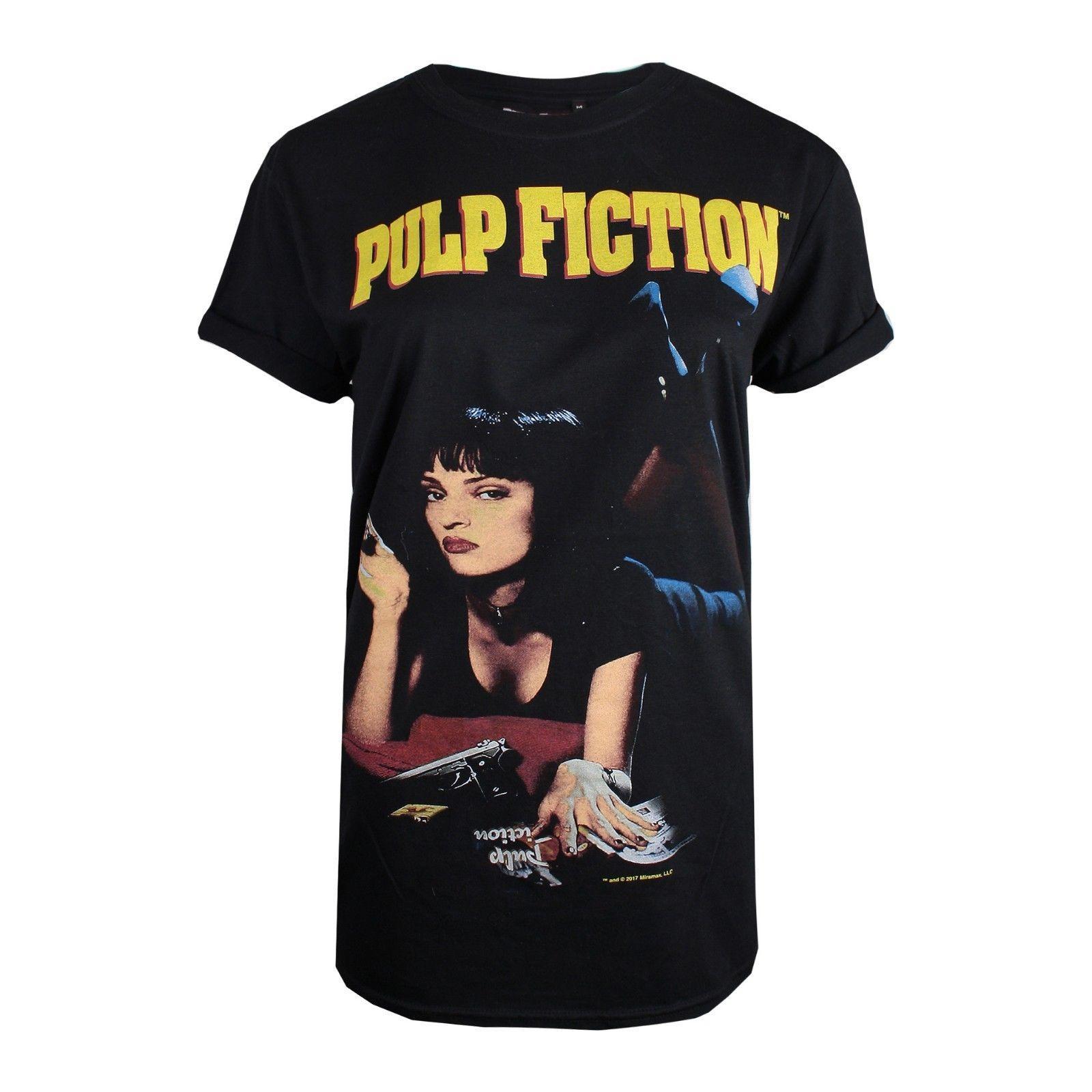Camiseta Mia Compre Fiction Para Uma Pulp Mujer Thurman zR41Xq