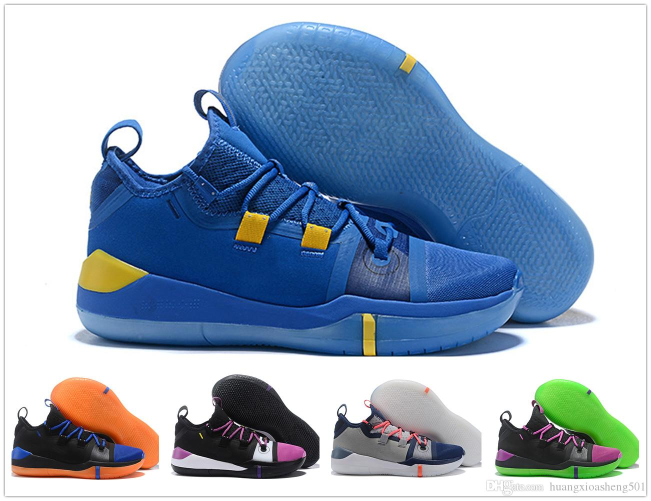 3f6720b5198 2019 2018 New Kobe AD EP Mamba Day Sail Wolf Grey Orange Multicolor  Basketball Shoes For AAA+ Quality Mens Trainers Sports Sneakers Size 7 12  From ...
