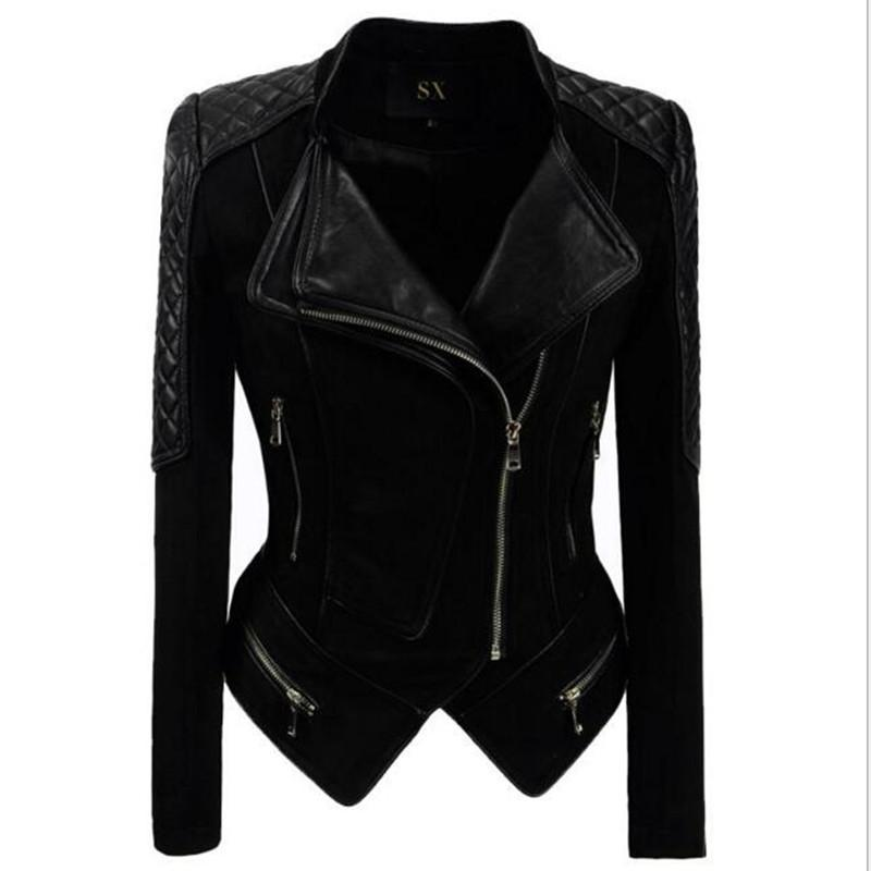 4c5a05942 Real Genuine Leather Jacket Women Buckskin Black Color 2018 Winter Fashion  Suede Motorcycle Jackets & Coats Plus Size 5XL 6XL