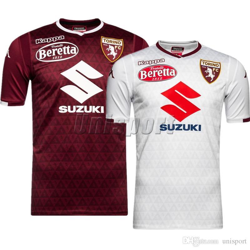 2018 19 Torino Fc Camisetas De Fútbol Belotti Baselli I.Falque Fútbol  Camisetas Camisa De Fútbol Kit Maillot Por Unisport 7491b1d24a289