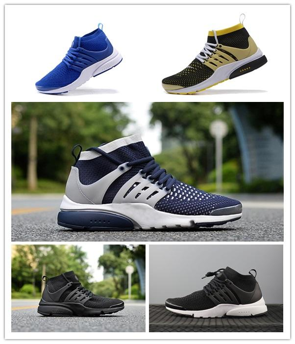 2017 Hot Sale Presto Ultra Olympic BR QS Women Men Running Shoes NAVY/RED/GOLD Fashion Casual Walking Airs Sports Sneakers Size 36-45