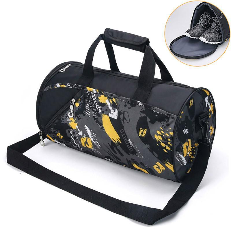 9bfdfe3e795b Outdoor Duffel Bags Women Men Fitness Bags Yoga Waterproof Nylon ...