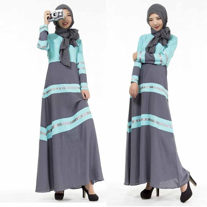 20b609c4e641 Compre M / L Kaftan Abaya Dubai Árabe Islam Turquía Musulmán Vestido  Ramadán Abayas Para Mujeres Caftan Marocain Turco Islámico Ropa A $39.19  Del Jilihua ...