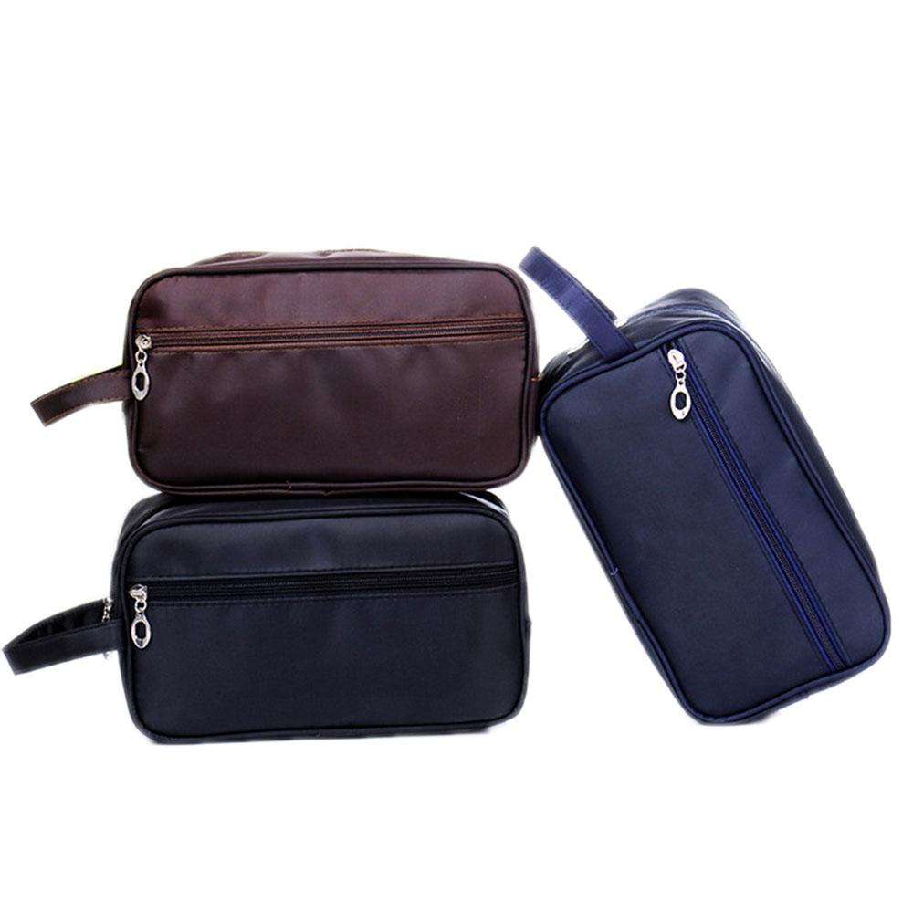 ff4bfb484034 2019 Women Men Travel Waterproof Toiletry Bag Wash Shower Makeup Organizer  Portable Case Make Up Bag Pouch Purse From Delina