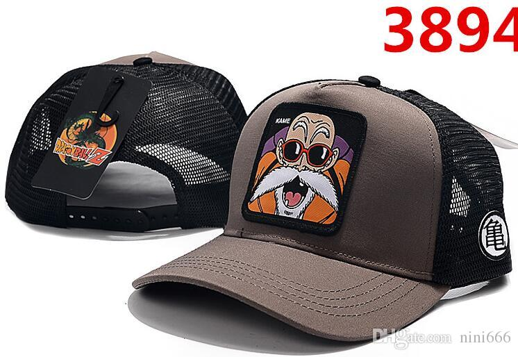 2019 New Ball hats brand designer baseball Caps anime character pictures High quality adjustable Snapback cap Men and women cap Student hat