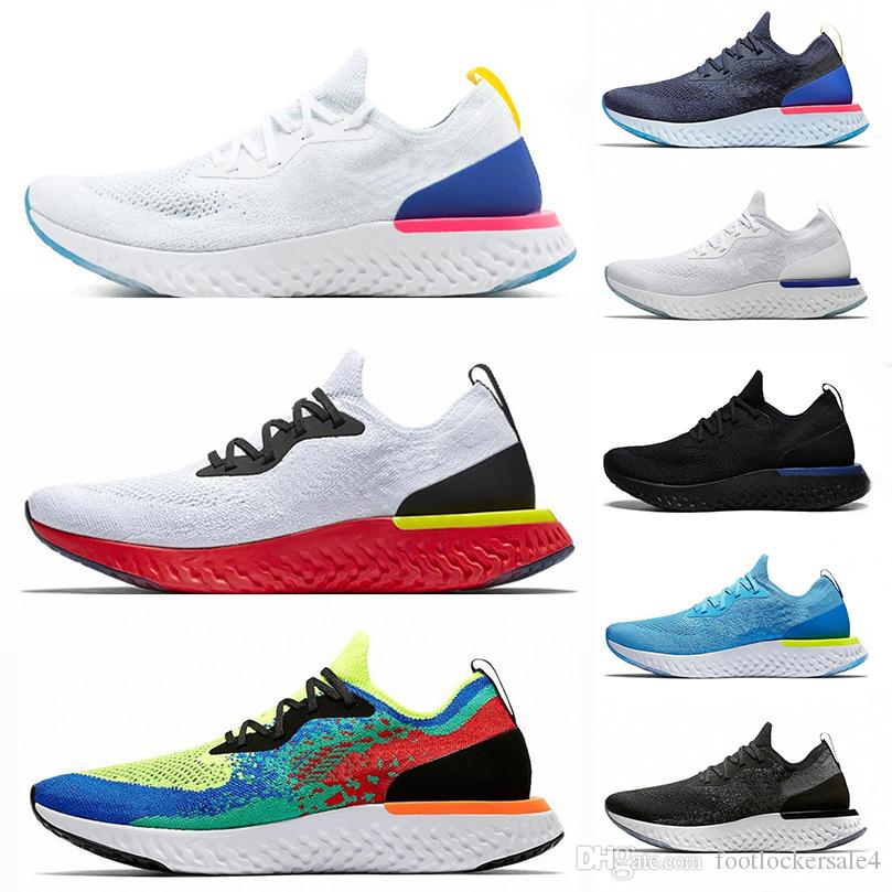 7bee24cf86fc 2019 Air Epic React Lnstant GO Fly Running Shoes For Men Women Top Quality  Fashion Causal Mesh Breathable Sports Trainer Designer Sneakers 36 45 From  ...