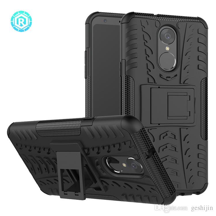 new style c5416 65fb1 2 in 1 TPU PC Armor Hybrid Flip Cover For LG Stylo 4 High Quality Mobile  Cover For LG Stylo 4