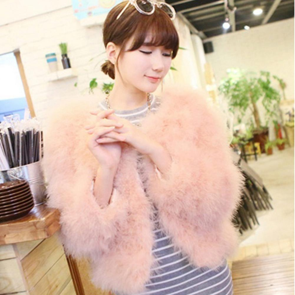 c974d07544b 2019 New Luxury Elegant Warm Ladies Ostrich Fur Coat Short Turkey Feather  Jacket Winter Overcoat Women Coat To Choose From Bigseaa, $55.29 |  DHgate.Com