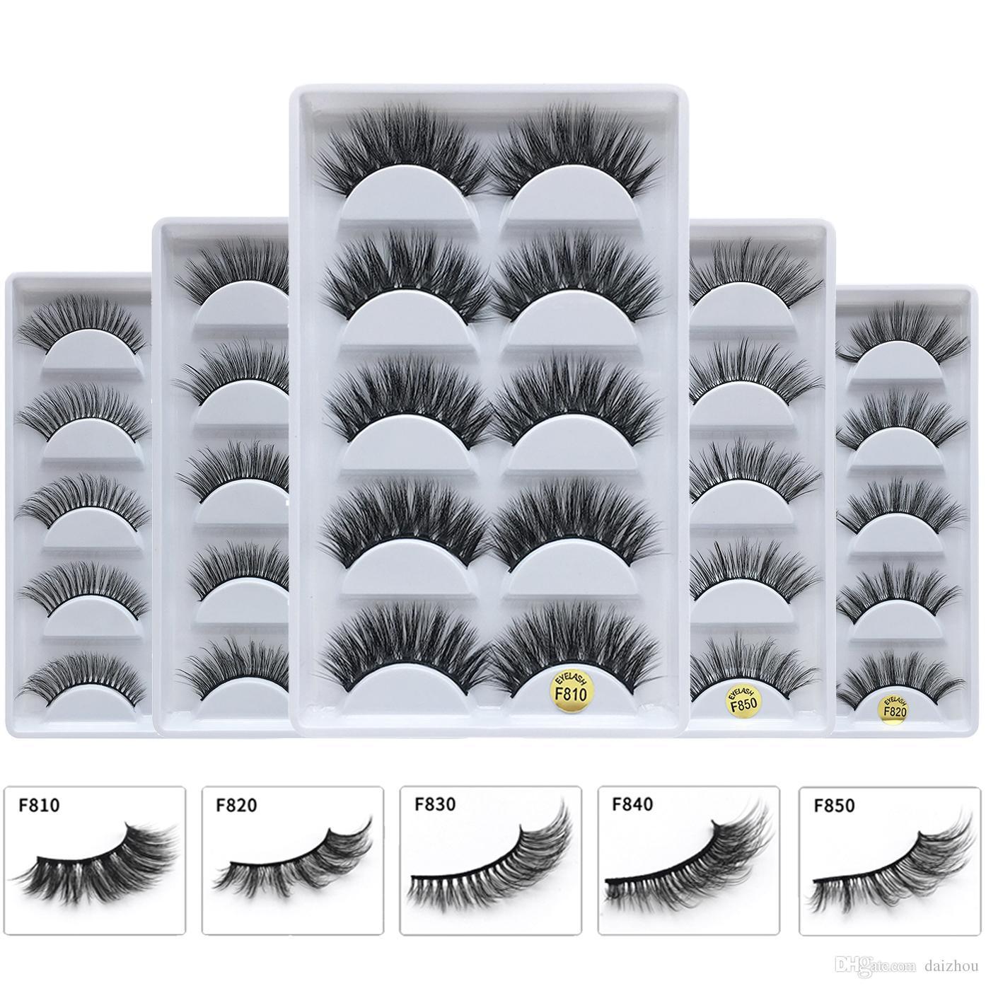 dedb66e6a0b 100% Real Mink Eyelashes 3D Natural False Eyelashes 3d Mink Lashes ...