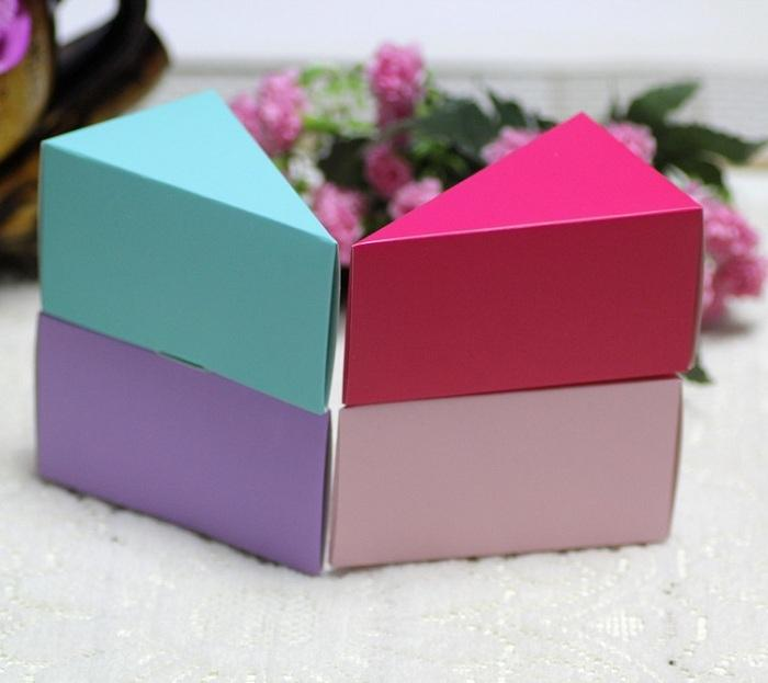 candy box bag chocolate paper gift package for Birthday Wedding Party favor Decor supplies DIY baby shower cake small Wh