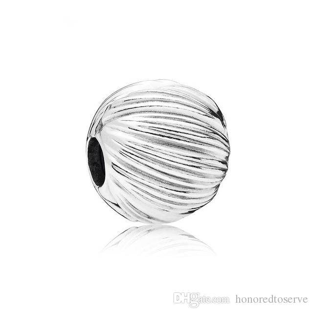 12259a187 2019 New Silver Plated Bead Alloy Charms Feathered Clip Charm Fit Original  Pandora Bracelet DIY Women Jewelry Making From Honoredtoserve, $0.66 |  DHgate.Com