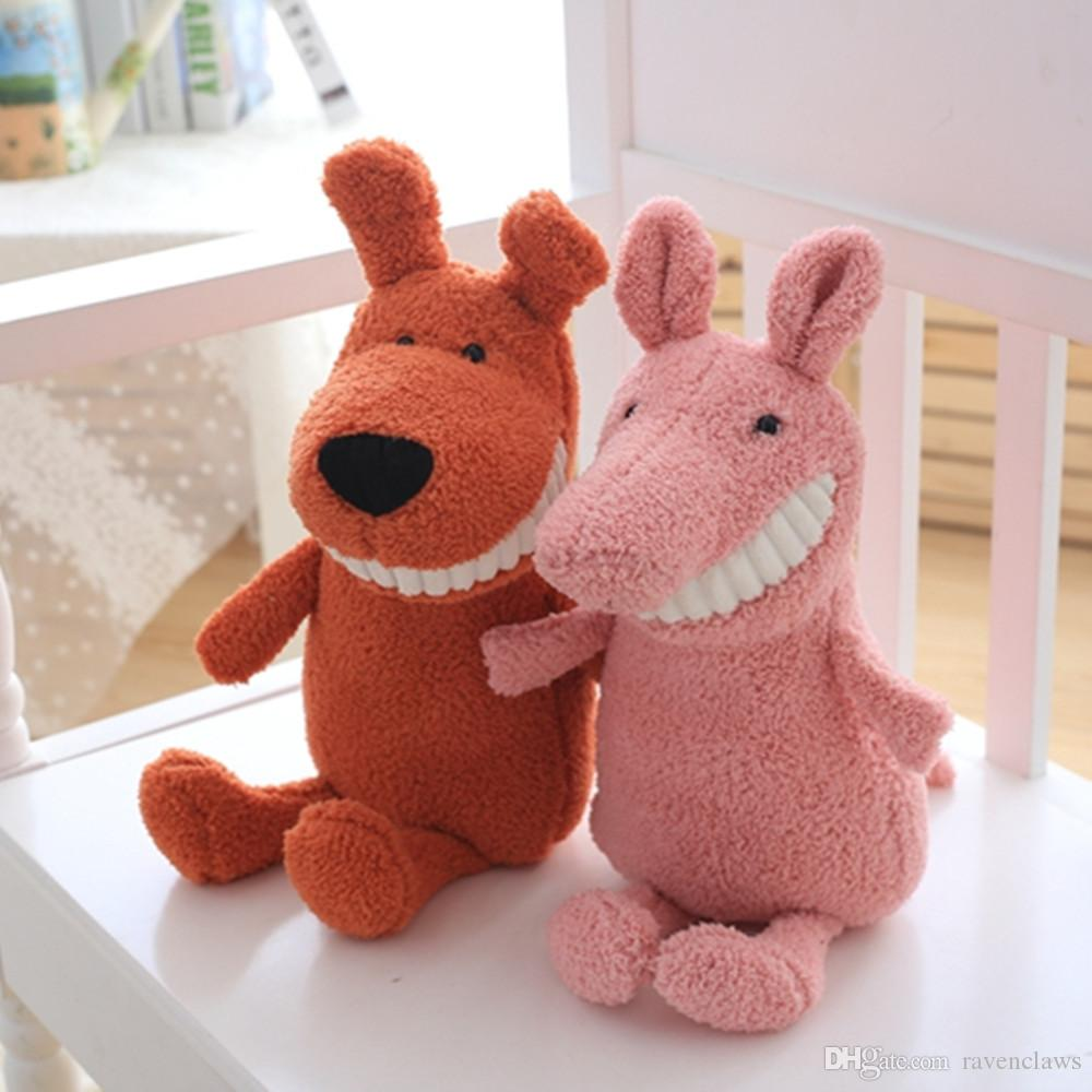 2019 New Big Tooth Doll Plush Toy Child Comfort Baby Pig Doll