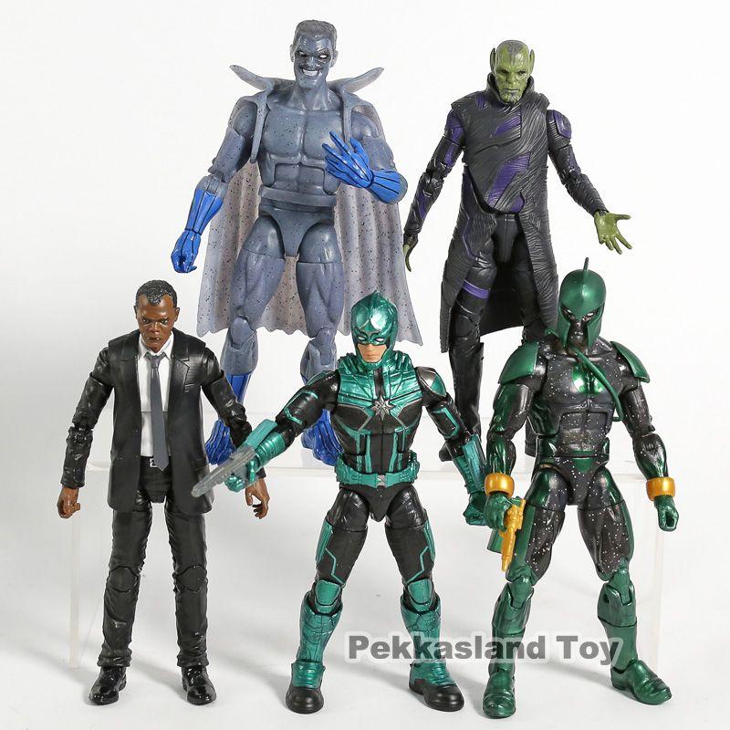 Großhandel Genuine Captain Marvel Skrulls Nick Fury Starforce