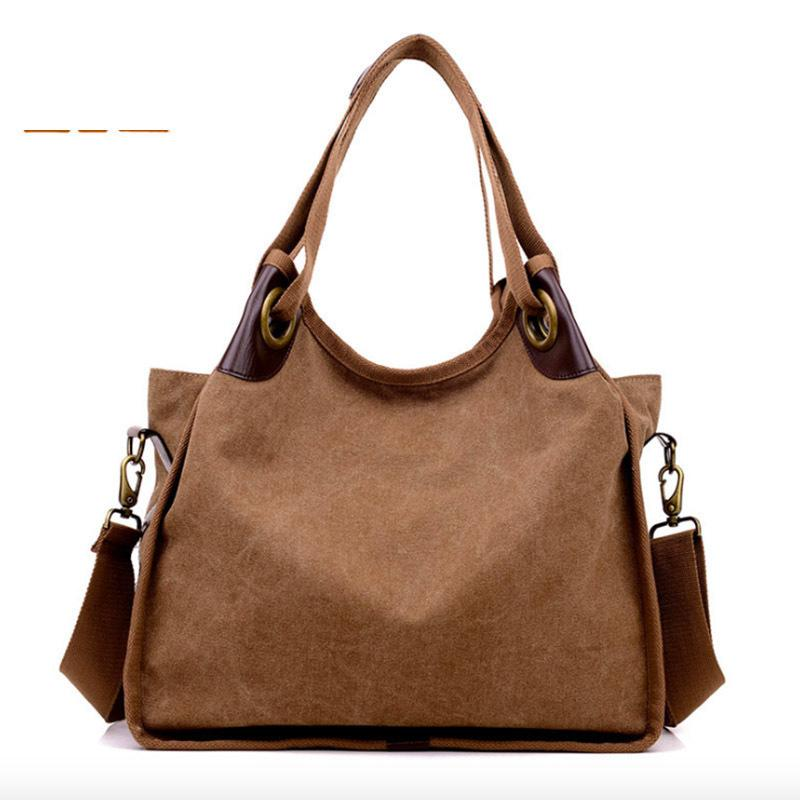 961e12c3d321 2019 Sale Time Limited Interior Compartment Kvky High Quality Canvas Women  Handbag Casual Large Capacity Bag Female Shoulder Handbag Wholesale Hobo  Purses ...