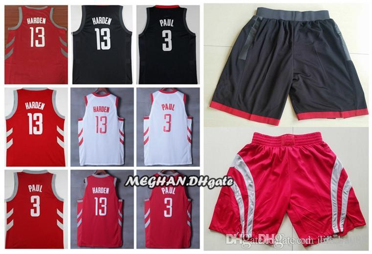 a1f745695 ... where to buy 2019 2019 new houston jerseys rockets and shorts 3 chris  paul 13 james