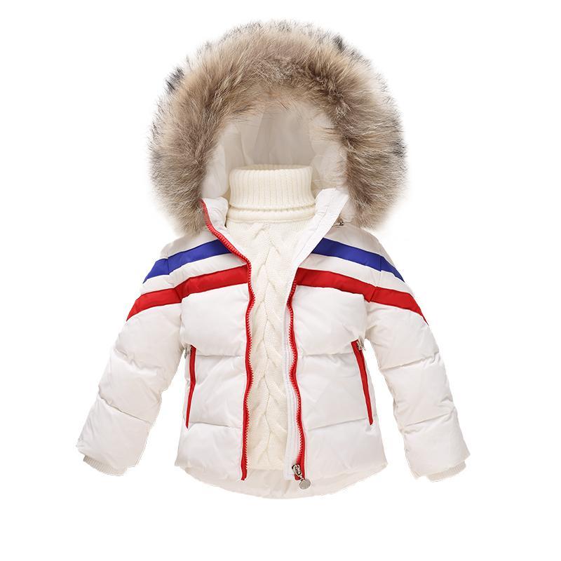 7a7d45bb55ba OLEKID 1 6 Years Children Winter Down Coat Brand Hooded Down Jacket ...