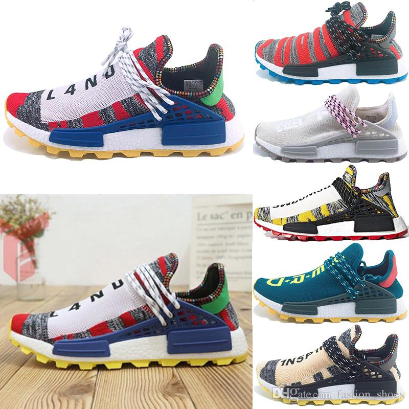 0acd3a089 Rushed PW Human Race Hu Trail X Men Running Shoes Pharrell Williams ...