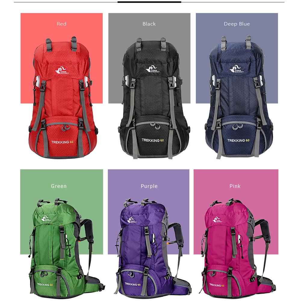 3130e0b036 60L Waterproof Climbing Hiking Backpack Rain Cover Bag 50L Camping  Mountaineering Backpack Sport Outdoor Bike Bag Professional Waterproof  Backpack Camping ...